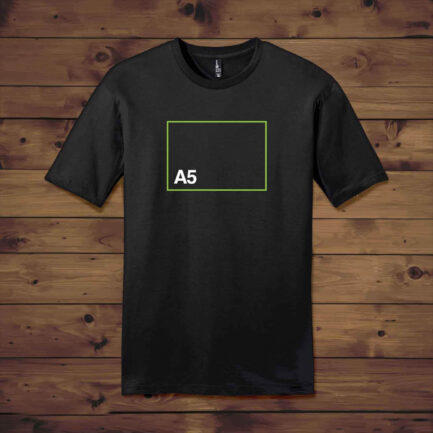 Dropship Crew Neck T Shirt with SQ Size 8.3 x x 5.8 to Start T Shirt Printing Business at Home in India