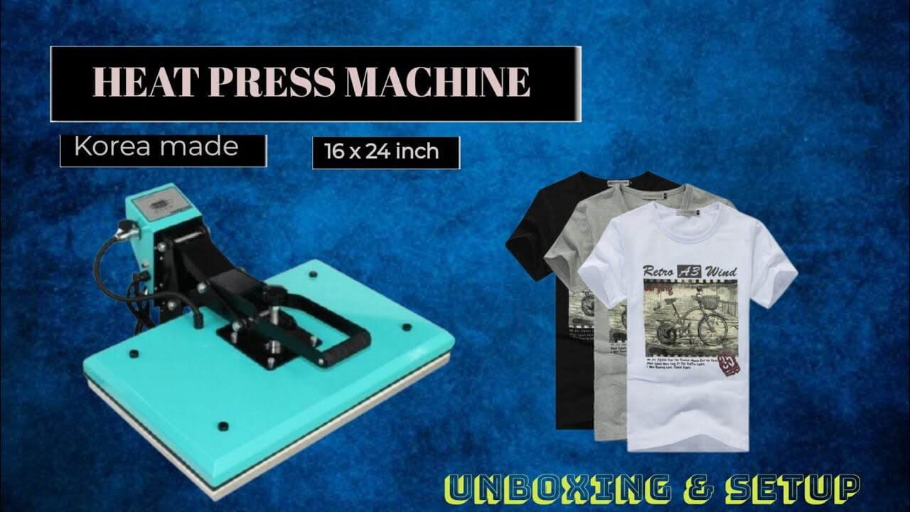 You are currently viewing Unboxing of 16 x 24 Inch Korean Heat Press in India